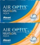 2 коробки Air Optix Night&Day по цене 1640 за коробку ВМЕСТО 1670
