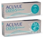 2 коробки Acuvue 1-Day Oasys по цене 1755 за коробку ВМЕСТО 1785