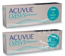 2 коробки Acuvue 1-Day Oasys по цене 1755 за коробку ВМЕСТО 1785 - рис 1